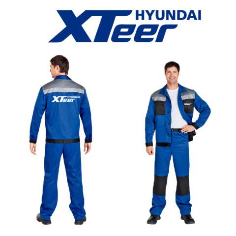 Промо продукция для Hyundai Xteer